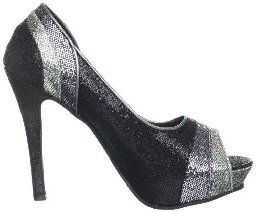 Glitter Black Pump Women's Touch Krissy Ups Black 4PCqWYfw