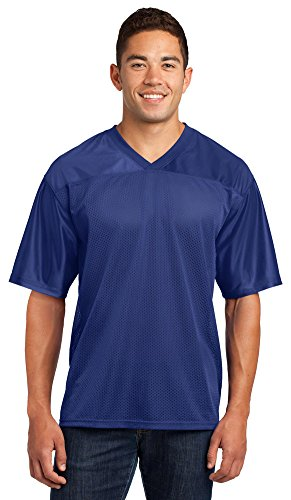 - Sport-Tek Mens PosiCharge Replica Jersey, Large, True Royal