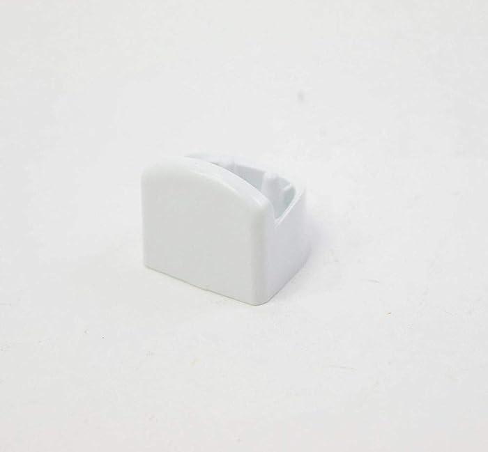 Bosch 615350 Dishwasher Door Handle End Cap Genuine Original Equipment Manufacturer (OEM) Part White