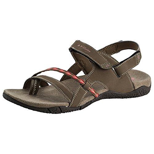 Ankle Sandals 000 Strap Women's Hellrot McKinley Braun Lila Brown Bahamas Trekkingsandale TwXxqt
