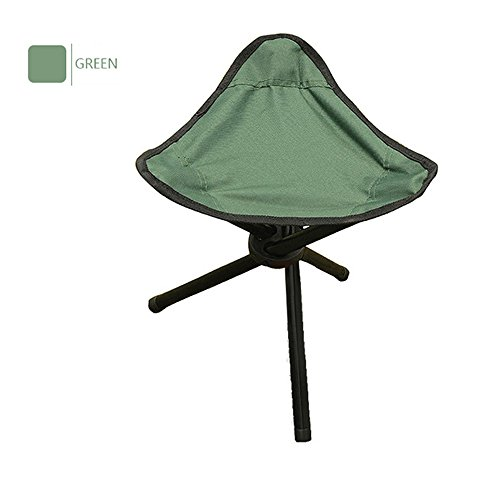 Timbers Youth Desk Chair (Ezyoutdoor Foldable Stool for Fishing Outdoor Camping Stools Portable Sturdy Folding Stools Chairs for Adults Teens Kids Supports 220 Pounds Large Size (Green))