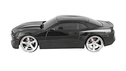 bundle-chevrolet-chevy-camaro-copo-model-car-in-black-124-scale-with-5-aa-batteries-included