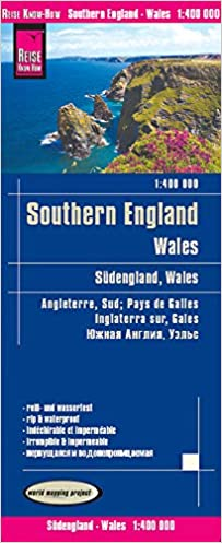 Reise Know How Landkarte Sudengland Wales 1 400 000 World