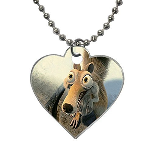 sid-and-diego-ice-age-4-conti-custom-fashion-hot-heart-dog-tag-pet-tag-necklaces-pendant-bead-chain-