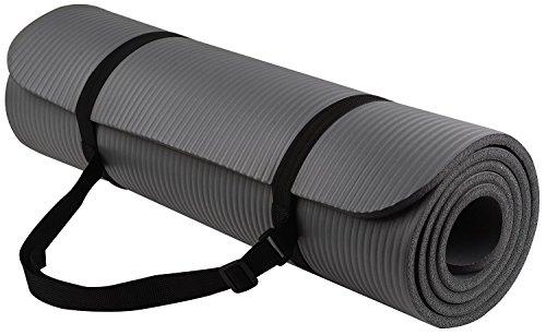Yoga Mat - GoYoga All-Purpose High Density - Anti-Tear Exerc
