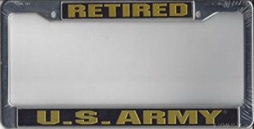 NEW-US-Army-Retired-License-Plate-Frame