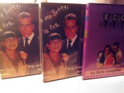 Betty la fea,Ecomoda y Betty Toons Telenovela Completa