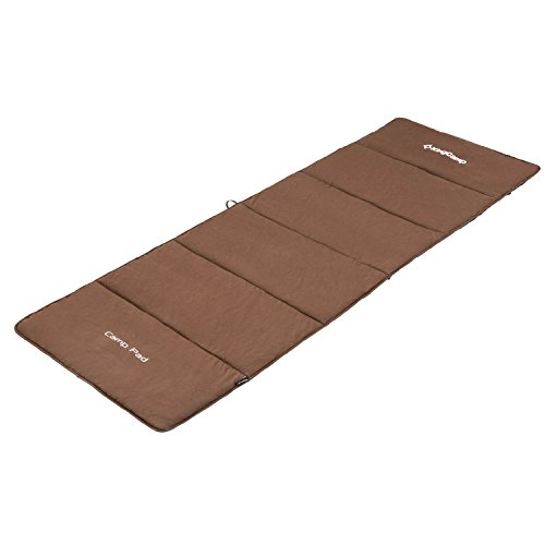 KingCamp Soft Cotton Sports Camping Sleeping Pad Mat, Pefect for Camp Cot Bed, Two Sizes (Normal (74.8