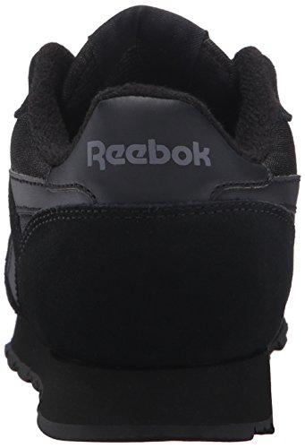 Reebok Womens Royal Nylon Sneaker Di Moda Nero / Nero / Carbonio