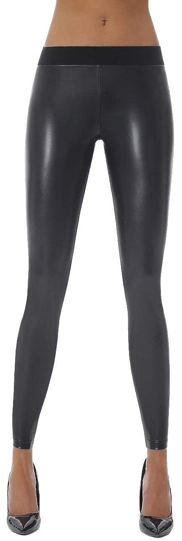 Leggins Shapeleggings formend modellierend schlankmachend Firstclass Trendstore hochwertige Pushup-Leggings in Lederoptik Gr S-XXL