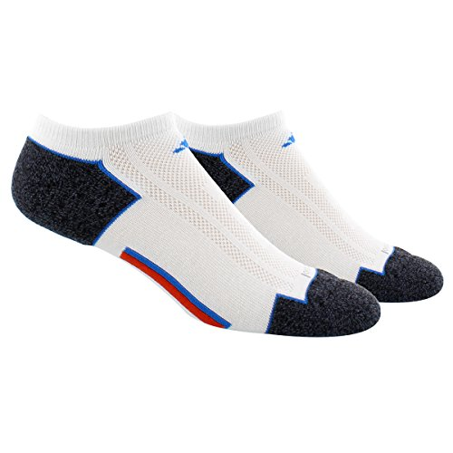 new concept 6dced abb9b Amazon.com  adidas Men s Climacool II No Show Sock (2-Pack)  Sports    Outdoors