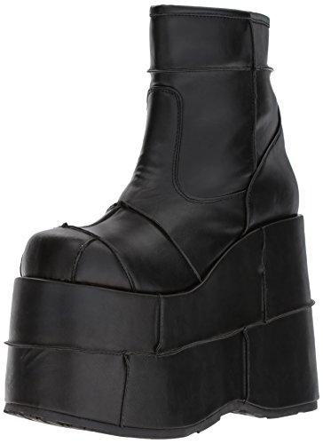 Leather Stack Vegan Stivali Bvl Nero 201 Blk Uomo Demonia x0gwnYdqZ0