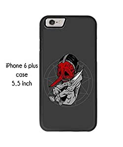 Cool Heavy Metal iPhone 6 Plus 5.5 Inch Plastic and TPU Durable Phone Case Cover(Laser Technology)