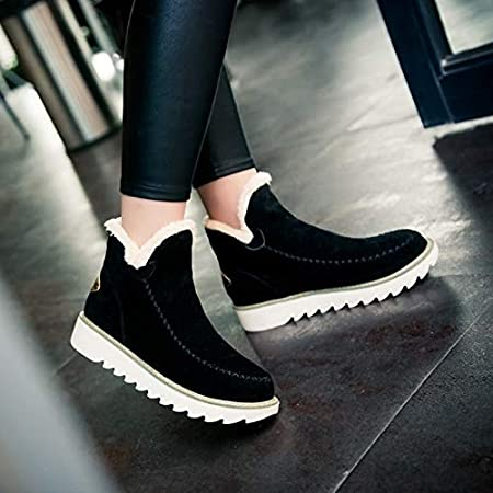 Beige,39 Autumn Winter of Warm-Skinned Flat Hot Arrival Sale Womens Shoes Hot Heels Snow Boots Scrub Shoes