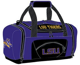 The Northwest Company Officially Licensed NCAA LSU Tigers Roadblock Duffel Bag