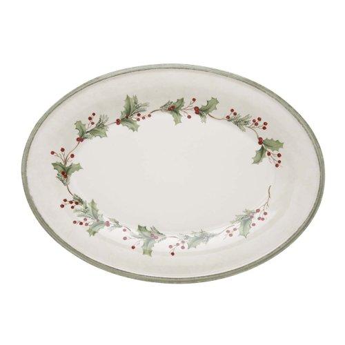 Lenox Holiday Gatherings Medium Oval Platter