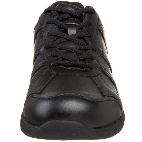 Dessiné Chaussure Hommes Atlas Mens Athlétique Cuir Noir