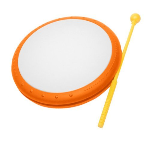 Hohner Kids Hand Drum Musical Toy, Orange [並行輸入品]   B01K1USD1Q