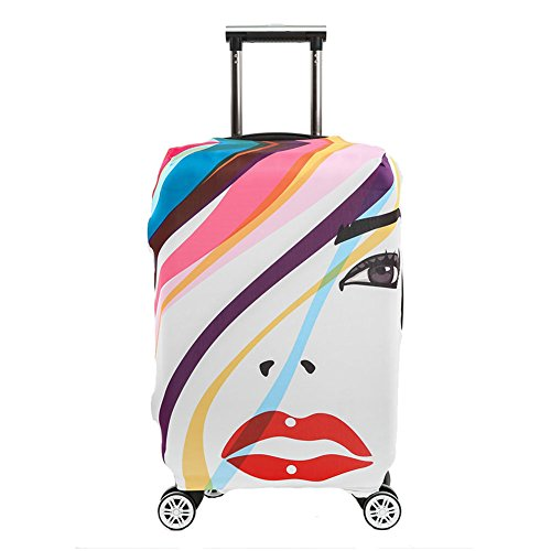 Colorpole Digital Luggage Protective Suitcase product image