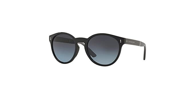 c14f1bd0c5 Image Unavailable. Image not available for. Colour  Burberry Blue Gradient  Polarized Cat Eye Sunglasses