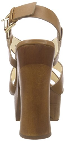 Paul Camel London Marrone Leather Sandali con Donna Crust Buffalo 3168 Platea 1 Braun 315 OBIwI