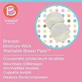 Bravado Moisture-Wick Washable Nursing Breast Pads