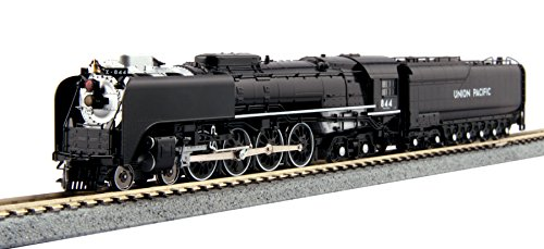 Kato USA Model Train Products Union Pacific FEF-3 Steam Locomotive #844 Train