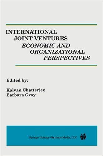Gratis downloadbare bøger til computere International Joint Ventures: Economic and Organizational Perspectives PDF FB2 iBook