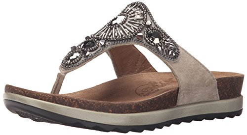 Dansko Women's Pamela Taupe Jewelled, 37 EU/6.5-7 M US by Dansko