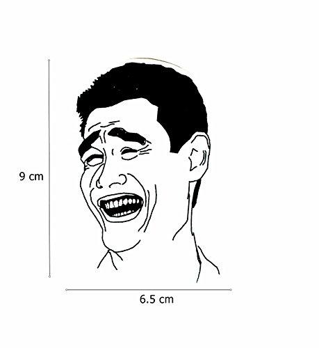 Yao Ming Face Meme Sticker (Yao Ming Face)