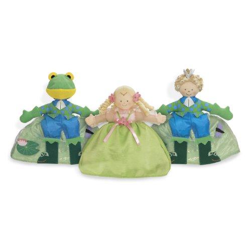 Topsy Turvy Doll Princess/Frog - Bear American Doll North Toddler