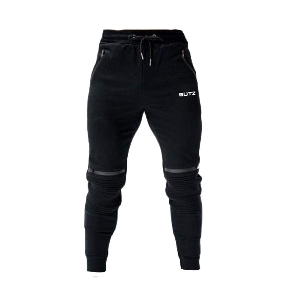 Men Sweatpants,Cargo Work Trousers Jogger Basic Sportwear Jogging Outdoor Pants Sport Work Casual Trouser by Danhjin