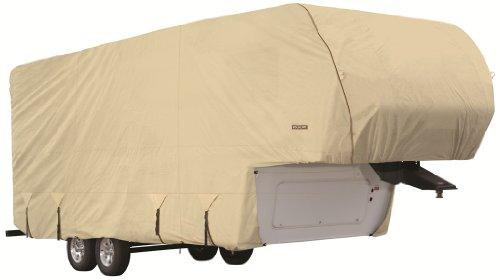 Goldline-Premium-Long-Life-RV-Cover-for-5th-Wheel-Motor-Home-Fits-40-42-Foot-Tan