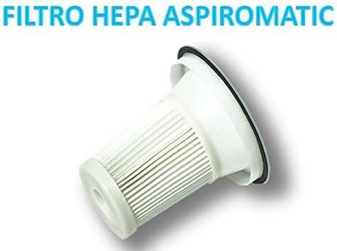 2 Filtros Hepa para Aspiromatic recambios.: Amazon.es: Hogar