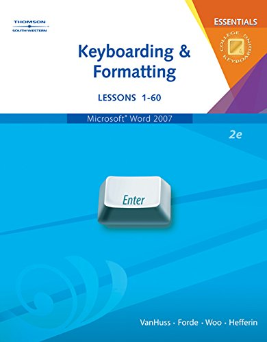Bundle: Keyboarding & Formatting Essentials, Lessons 1-60, 2nd + Keyboarding & Formatting Essentials CD-ROM, Les