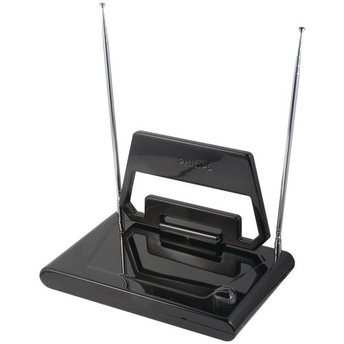 Best Philips Outdoor Antenna Hdtvs - Philips SDV1125T/27 Indoor HDTV/UHF/VHF/FM
