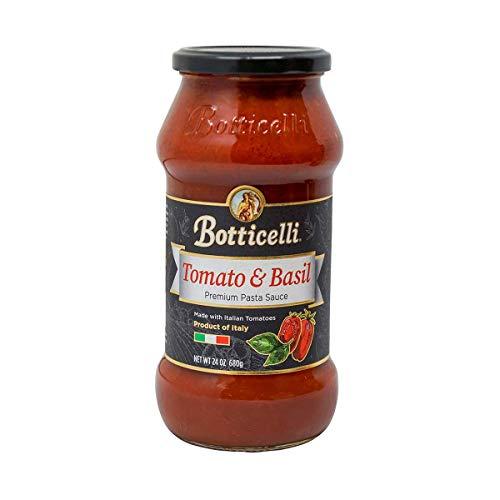 Botticelli Premium Pasta Sauce Variety Pack (24oz) (4)