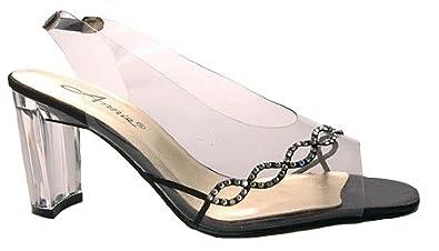 Annie Womens Circle Heels