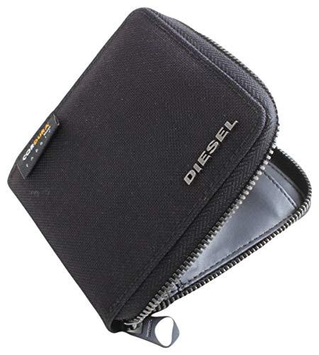 Diesel Mens Zippy Hiresh S Wallet - Black
