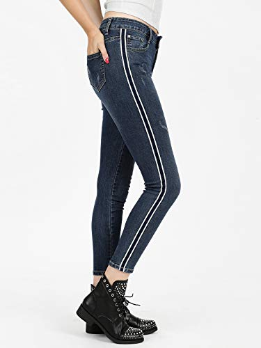 Enos Vaqueros Mujer Turquesa Jeans Para qOwZqva4