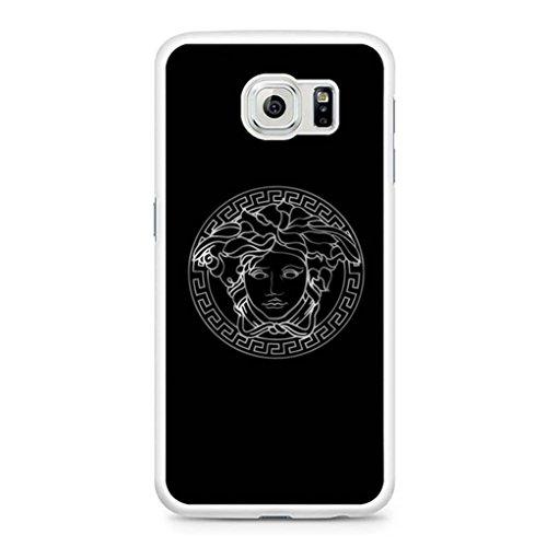 Versace Logo Silver Samsung Galaxy S7 Edge - Versace Images Logo Of