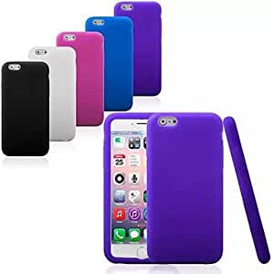 CuteFaiy Cases For Apple Iphone Silica Gel Soft Back Cover Case for iPhone 6 (Assorted Colors)