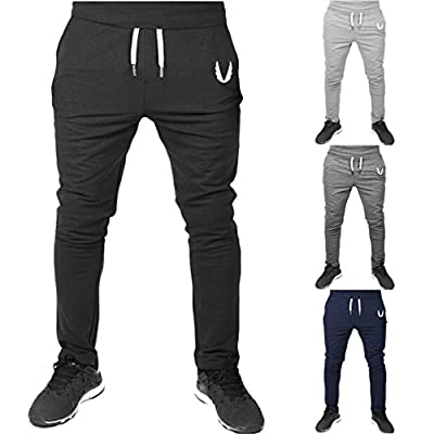 HOT! BYEEE Joggers pants for men - Men's Casual Jogger Sweatpants Active Pants Basic Slim Fit Jogger Pant Elastic Waist