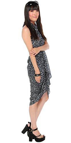 Ups Impresas Con Mujeres o Mundo 1 Blanco Felinas Sarongs Negro Cover Ba Sarong Szxq4H4