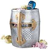 12th century Helm Collectible Decorative Medieval Gothic Trash Bin