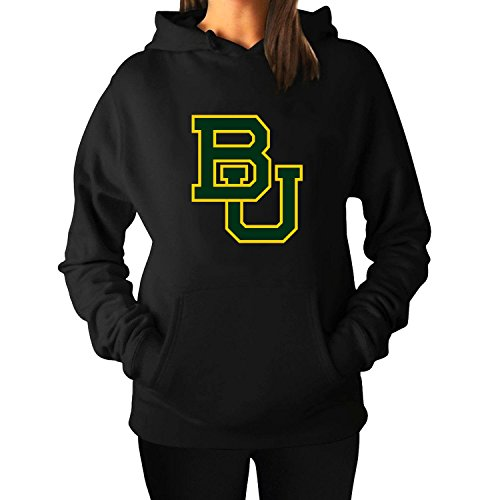 Women's Baylor University BU Fleece Hooded Pullover Hoodies - Montreal Hot Women