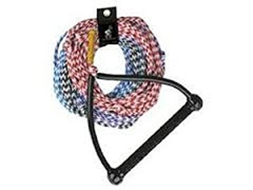 Handle Ski Rope (AIRHEAD AHSR-4, 4-Section Water Ski Rope 75 ft 4-section Tractor Handle)