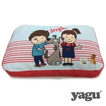 Yagu Aladine Colchon Smile T1 76x51x17 cm: Amazon.es: Productos para mascotas