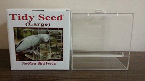 Tidy Seed No-Mess Bird Feeder, Large ()