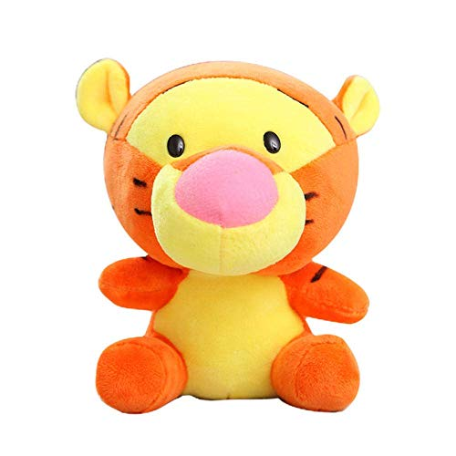 FGBV R Stuffed Plush Toy Cute Stuffed s Minnie Winnie The Pooh Mickey Mouse Keychain Backpack Decoration Children Toy Gift-10_cm_Tiger maomiao